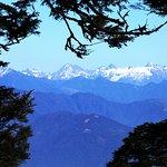 Seeing the Himalayas at Dochula Pass