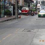 Poor road condition