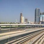 Dubai Metro fényképe