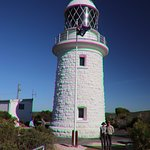 Last view of the Cape Naturaliste Lighthouse