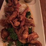fried Humboldt squid