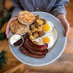 Sunrise at Mooney's breakfast dish