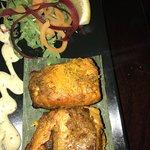 Tandoori salmon starter