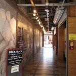 Entrance Hallway - follow the tracks!