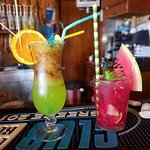 long island iced tea and mojito watermelon