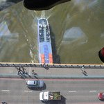 Glass bottom walkway - Tower Bridge