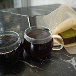其中兩款的手調咖啡