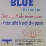 Photo of Blue   Ms Tam Tam