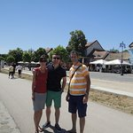 Szentendre sightseeing with my guests