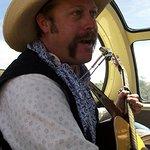 Singing cowboy.