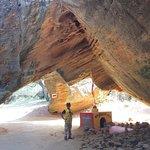 Small Hinglaj Mata Devi Temple inside Naida caves