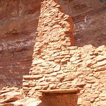 Remains of cliff dwelling.