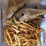pastrami with fries