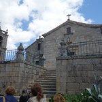 Conjunto da torre sineira, igreja e panteão