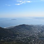 Downtown Cape Town view