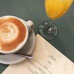 Chai Latte & Mimosa