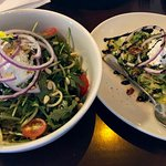 Salads are large enough to share