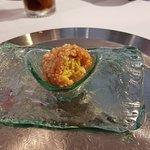 Croquetón de pollo al curry