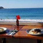 Platos del Restaurant , atún y namorado ......