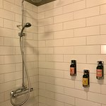 Delicious toiletries and rainfall shower pressure