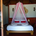 Bed having sea view
