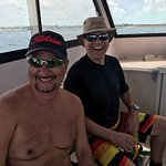Doug and Jim. New Friends and hopefully new dive buddies!