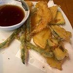 $9 for small veg tempura, $2 extra per shrimp!!