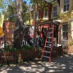 Kensington Market and Spadina Avenue Foto