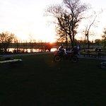 Evening Scene, west side of park