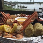 Crab Platter for Two, Before