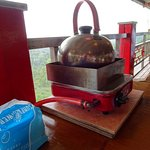Large hot water kettle