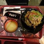 Japanese steak over rice