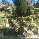 The Inca steps at Yumani.
