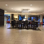 Lobby breakfast area seating (partial), lots of other options