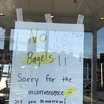 No bagels :(