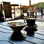 Кофе на закате