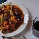 Taverne Apotiki, plat chaud végétarien
