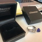 Tanzanite Ring, stone fell out!