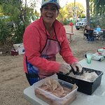Peak Season weekly FREE FISH BBQ enquire at park for date