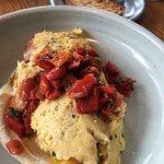 scampi omelette