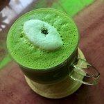 Stunning Matcha latte, best I've tasted in Japan!!