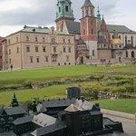 Castillo de Wawel - Catedral y maqueta
