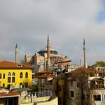Hagia Sophia/view from the rooftop