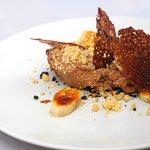 Chocolate & caramel mousse