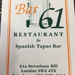 Photo of Bar 61 Restaurant