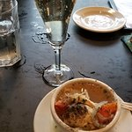Champaign and chicken soup