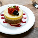 Cheesecake dell'Hosteria
