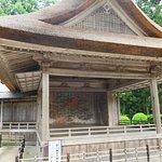 白山神社能楽殿。少し奥にありますが良かったです