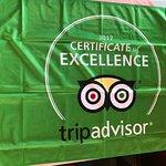 Nossa tão esperada bandeira do Trip chegou! Essa conquista devemos também a vocês clientes.Obrig
