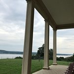 View of the Potomac from the back porch of George Washington's house